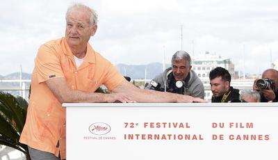 Bill Murray faz das suas no Festival de Cannes