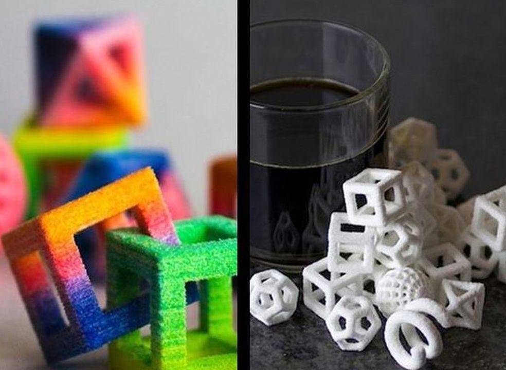 A impressão 3D chegou ao açúcar para o cafezinho, e é incrível