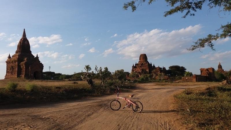 De bicicleta no Mynamar: pedalar em Bagan, a cidade mágica