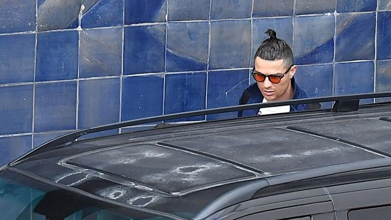 As imagens de Cristiano Ronaldo a passear na ilha da Madeira