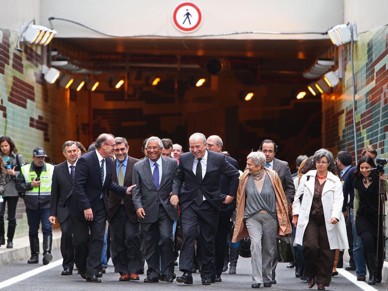 Três presidentes de Câmara em Lisboa para construir 1.725 metros de túnel no Marquês