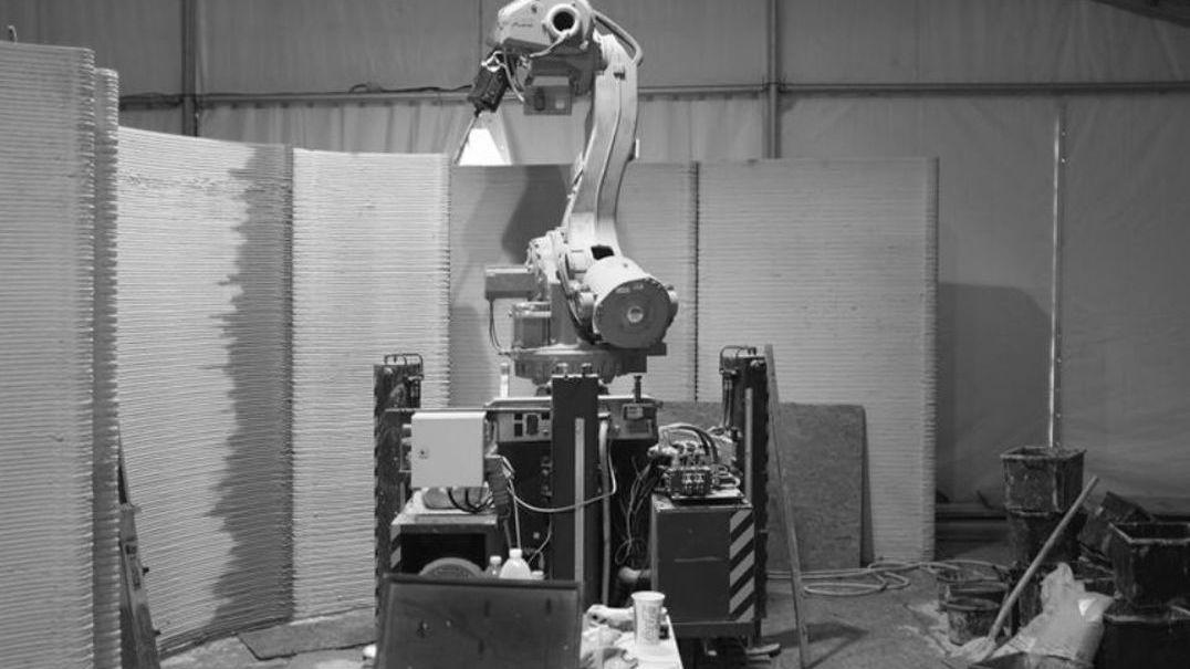 Robô portátil constrói casa impressa em 3D em 48 horas