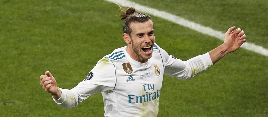 Bale 'veste-se' de Ronaldo e marca de bicicleta