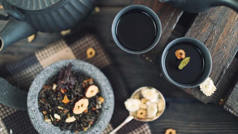 O mundo do chá. Um quiz em 10 perguntas que são um desafio
