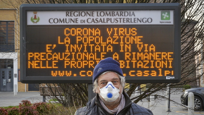 Mais 542 óbitos em Itália. COVID-19 já matou 17.669 pessoas neste país