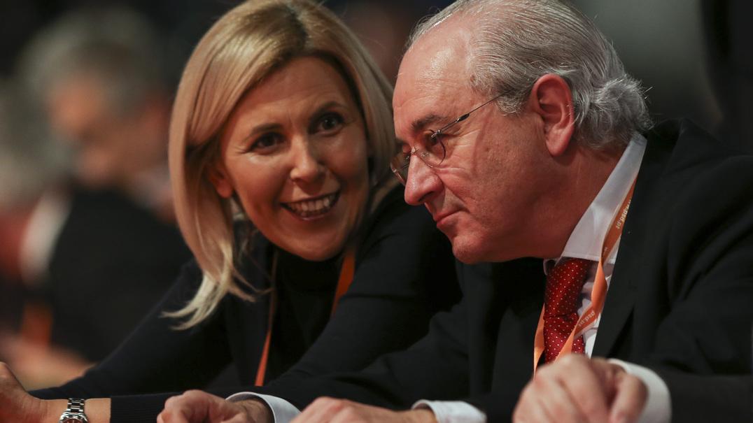 Elina Fraga vaiada no Congresso do PSD