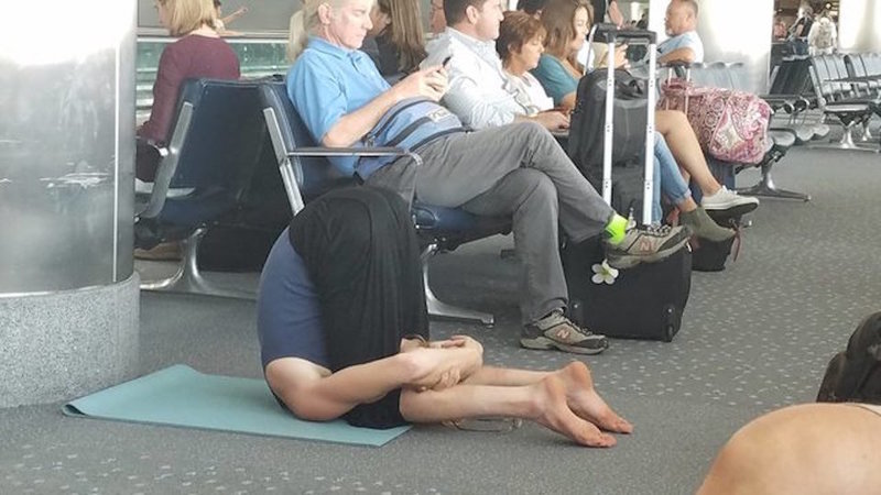 Quando o cansaço aperta, não há excitação de viagem que lhes valha