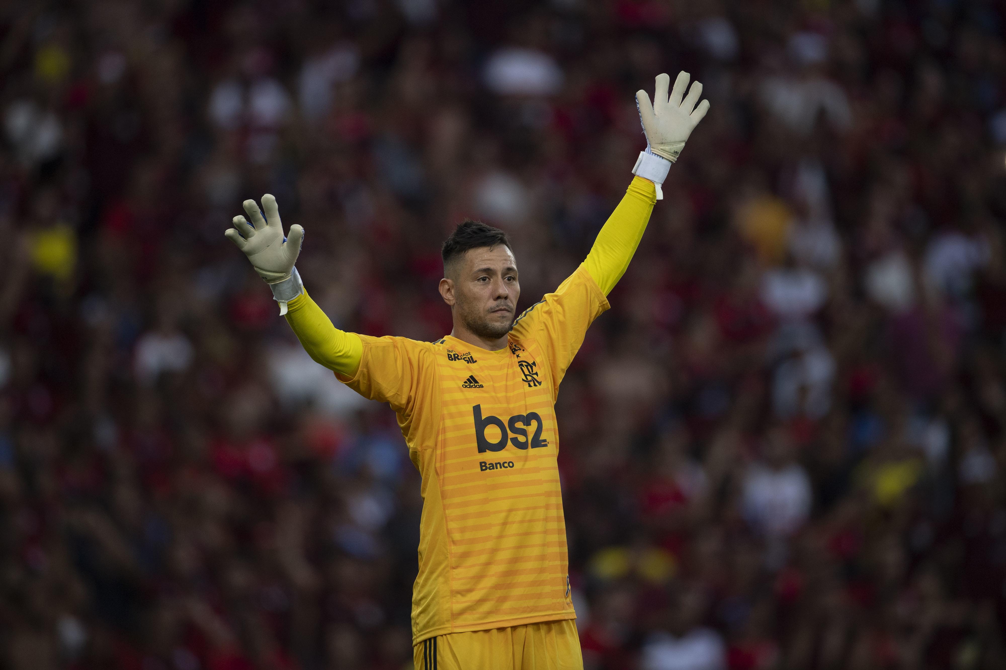 """Diego Alves elogia Jorge Jesus: """"Consegue tirar o melhor de todos nós"""""""