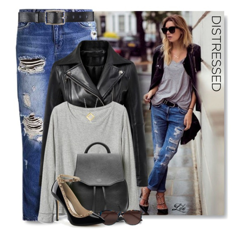 Destroyed Jeans: A tendência das calças rasgadas