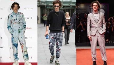 12 looks de Timothée Chalamet, o ator mais bem vestido do mundo