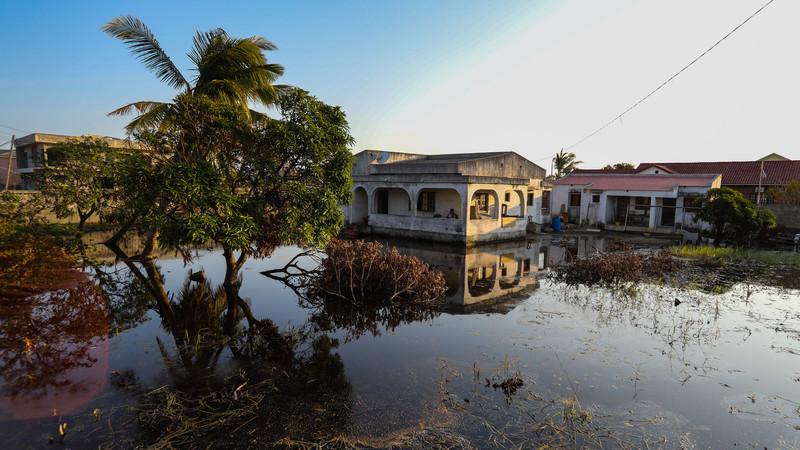 Alerta vermelho: Novo ciclone deixa 692 pessoas em zonas de risco no norte de Moçambique