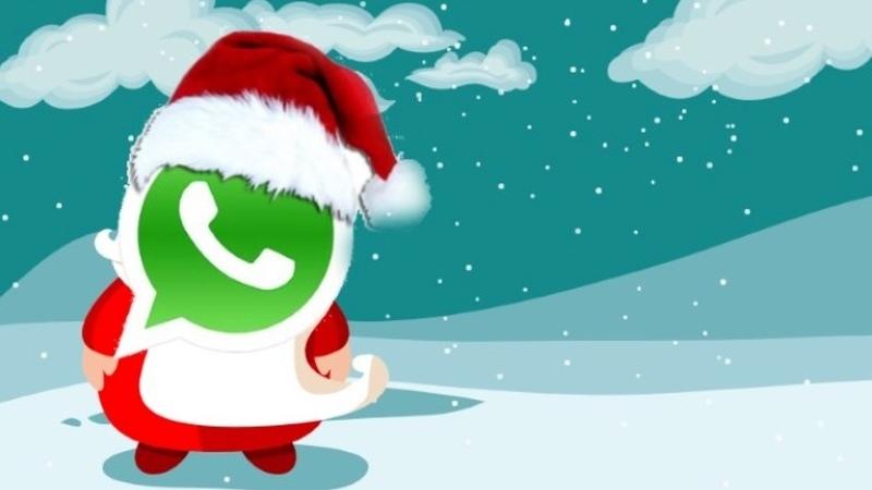 Android: O Natal chegou ao WhatsApp com um pack de stickers