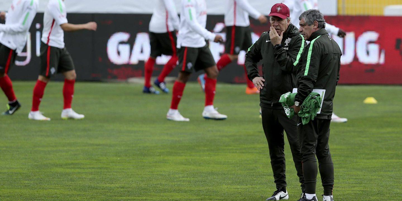 Gelson Martins poupado no arranque dos trabalhos da seleção