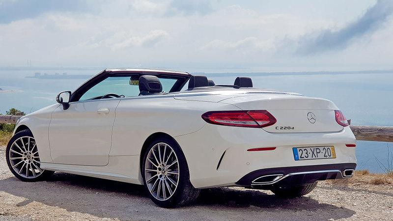 Ensaio: Mercedes-Benz C220d Cabrio – Adicionar cor à rotina
