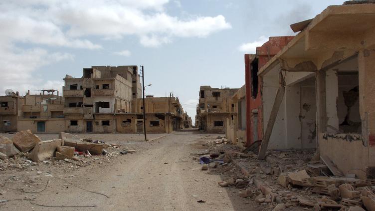 Cidade moderna de Palmira