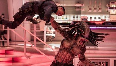 """""""O Predador"""" estreia em primeiro lugar nas salas de cinema americanas"""
