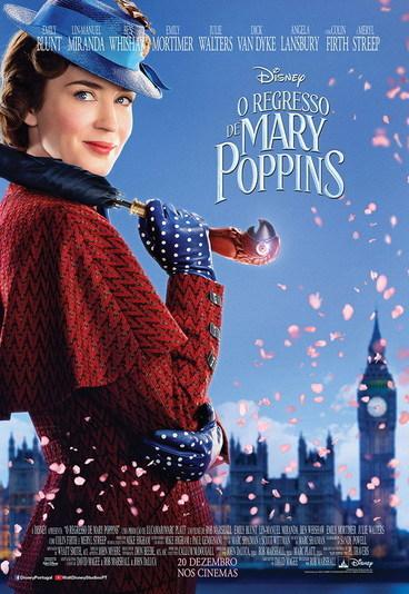 """""""O Regresso de Mary Poppins"""": ganhe convites para as antestreias"""