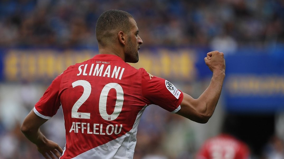 Slimani conitnua a marcar golos pelo Mónaco