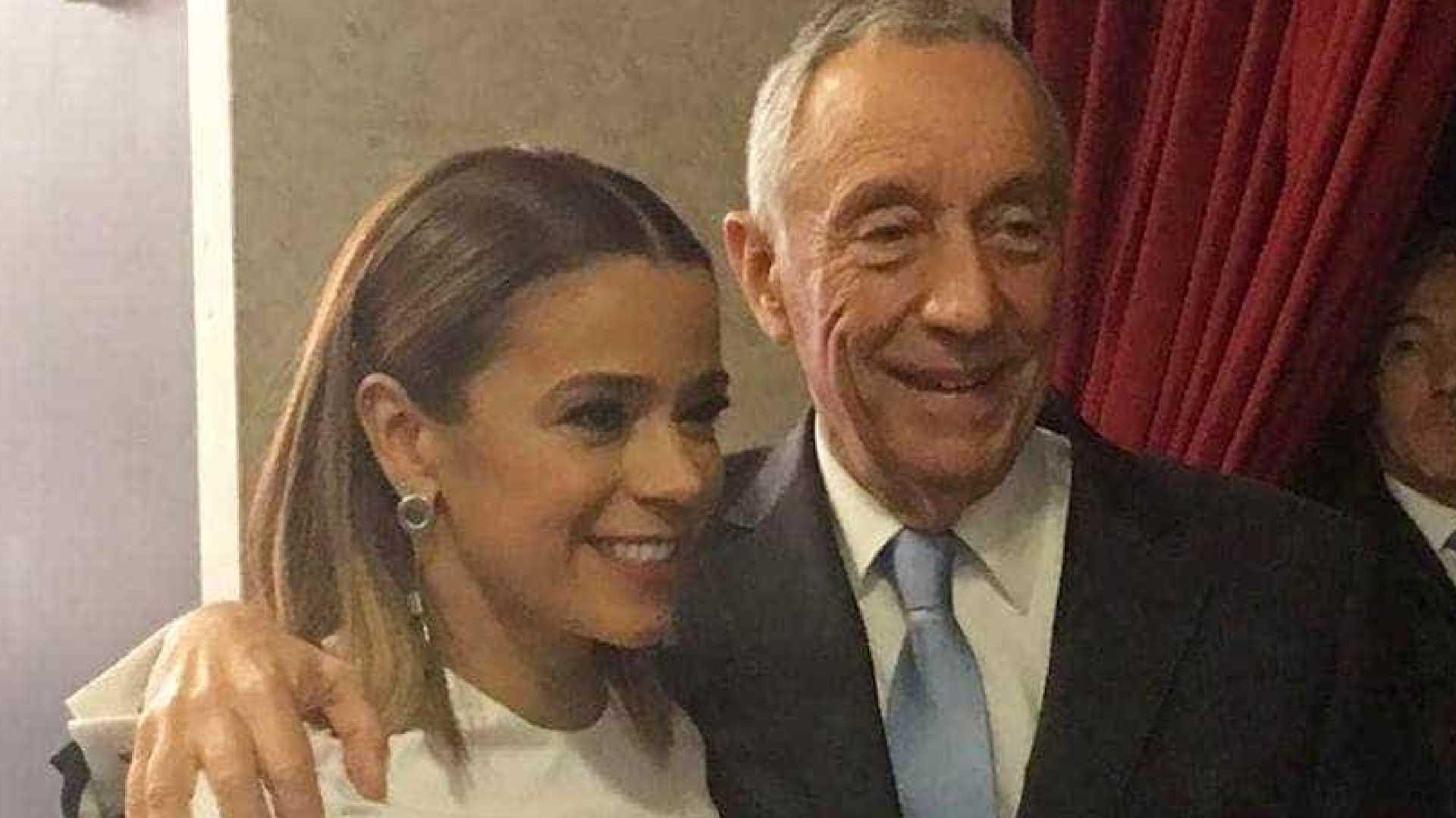 Rita Ferro Rodrigues celebra aniversário de Marcelo Rebelo de Sousa