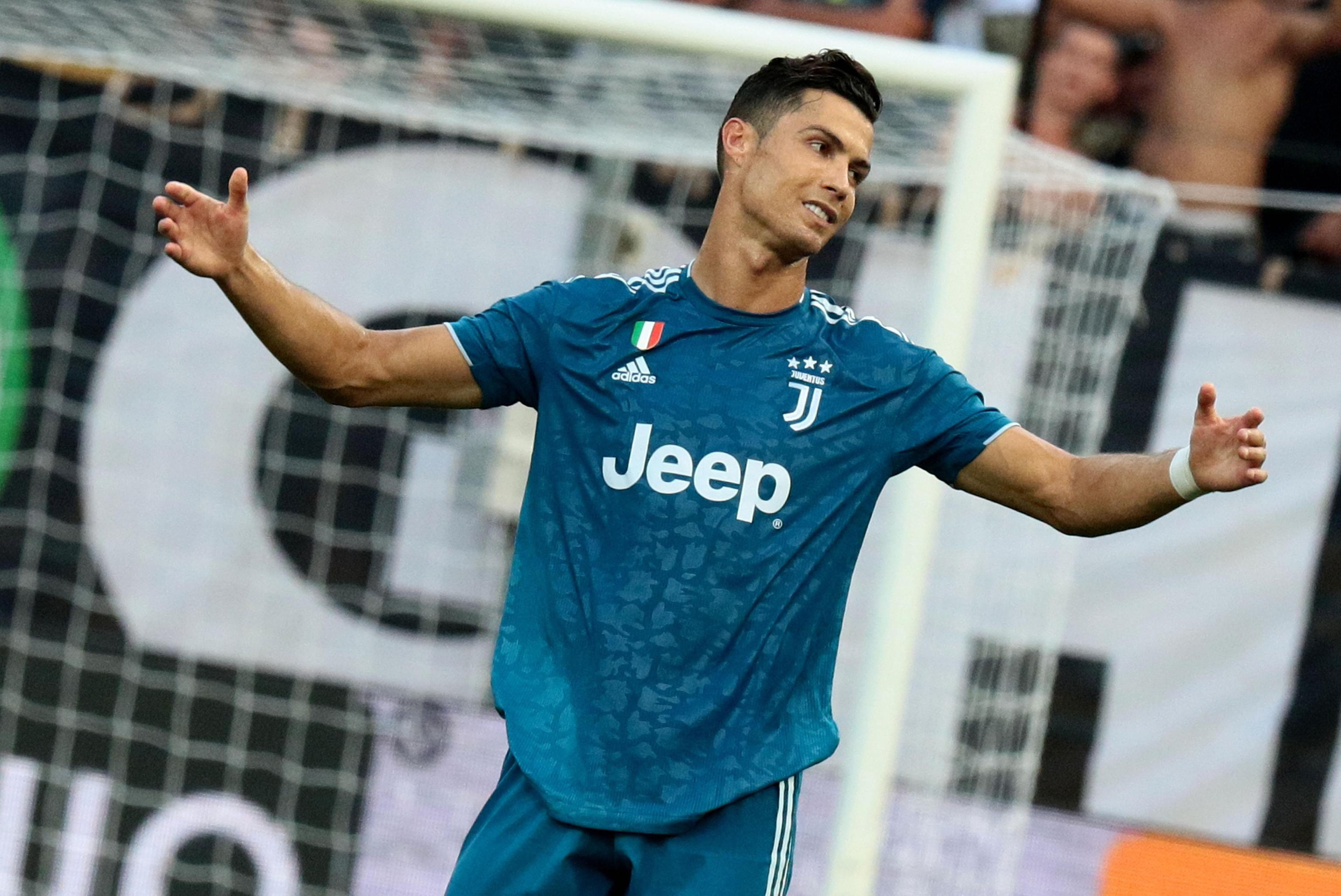Ronaldo fica em branco na vitória da Juventus em Parma