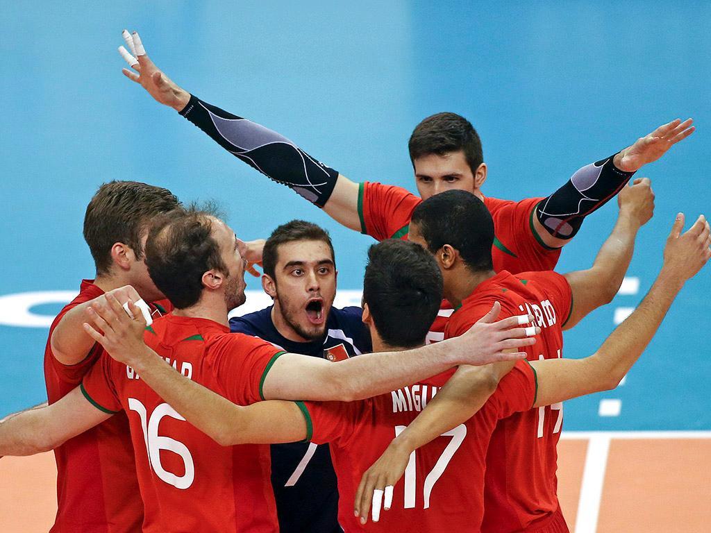 Portugal estreia-se com vitória frente à Estónia na Taça Challenger de voleibol
