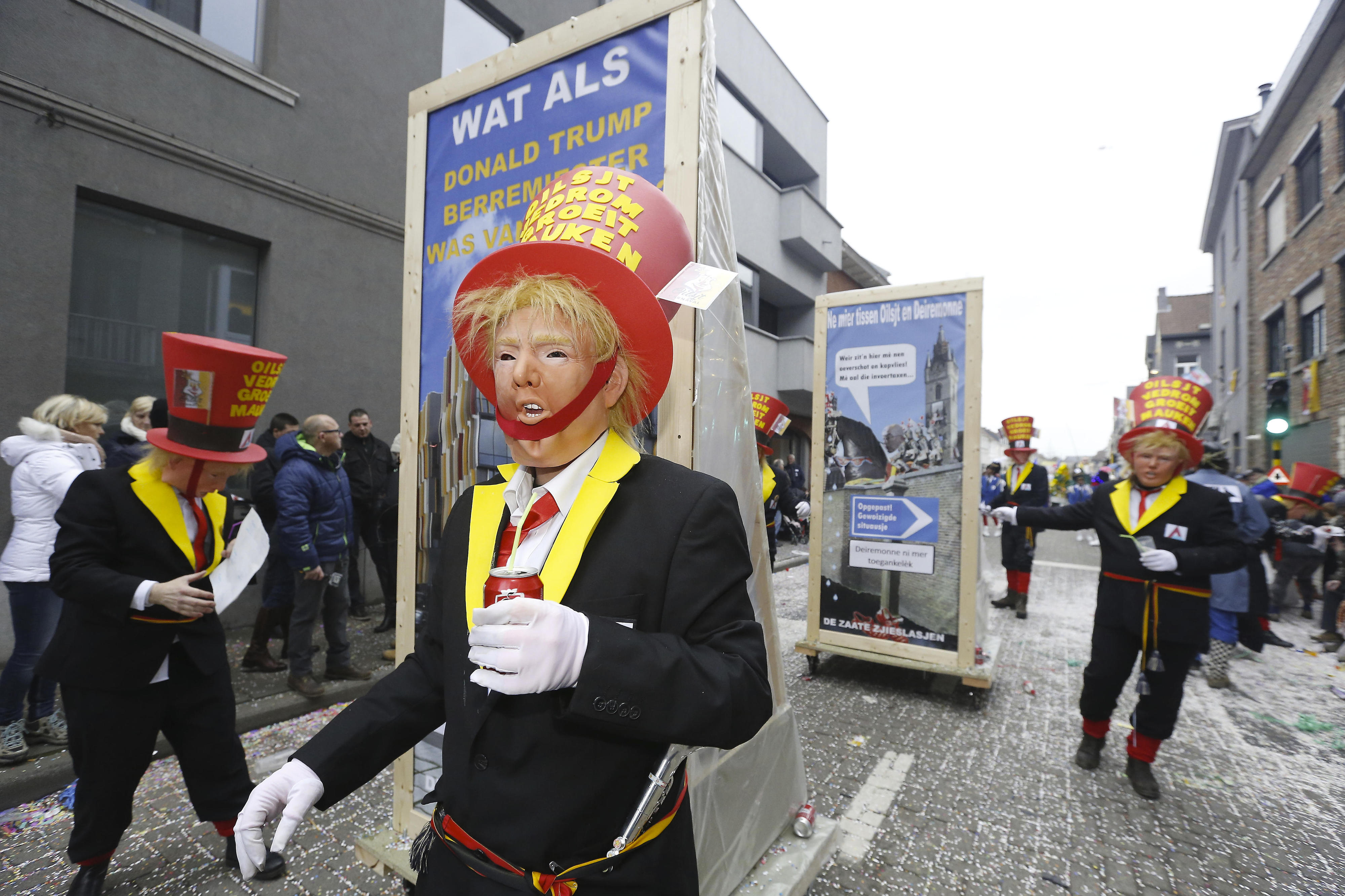 Um carnaval que se leva a mal. UNESCO remove festival belga de Aalst da lista de patrimónios por antissemitismo