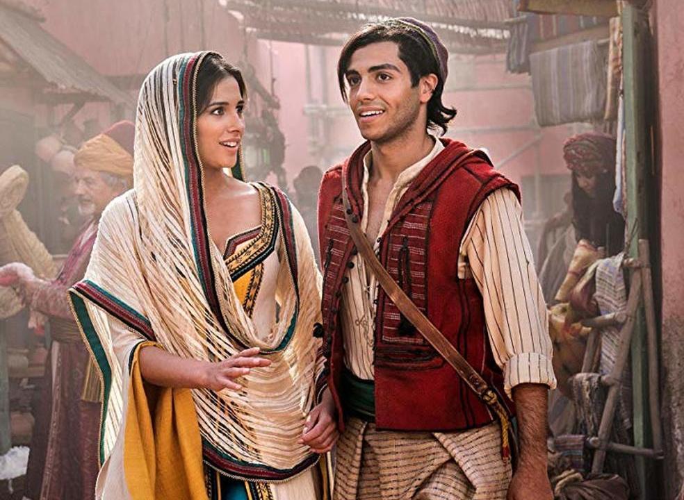 """""""Aladdin"""": novo filme da Disney conquista bilheteiras apesar das más críticas"""