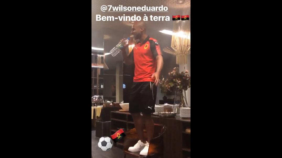 Esta foi a praxe de Wilson Eduardo na seleção de Angola