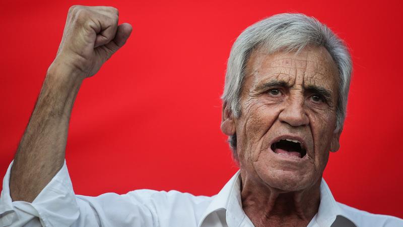 """Jerónimo admite """"um ou outro descontente"""" interno com a """"Geringonça"""" e ataca arrivismo do PAN"""