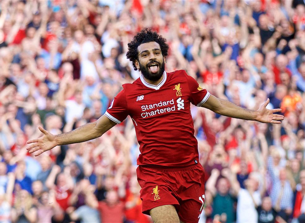 """Steven Gerrard considera que Salah é """"o melhor jogador do planeta neste momento"""""""