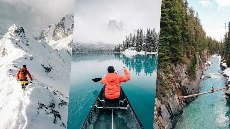 Este fotógrafo canadiano mostra o melhor do inverno em imagens deslumbrantes