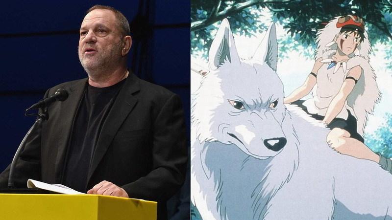 """Harvey Weinstein quis vergar o estúdio japonês Ghibli por causa de """"A Princesa Mononoke"""""""