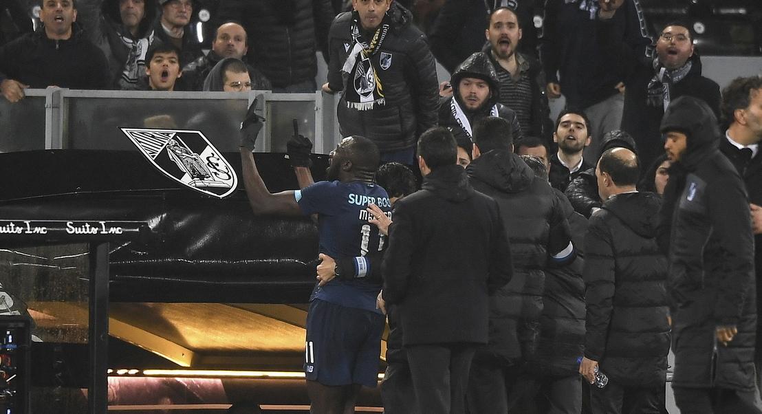 Comportamentos racistas: Vitória de Guimarães pode ser punido com um a três jogos à porta fechada
