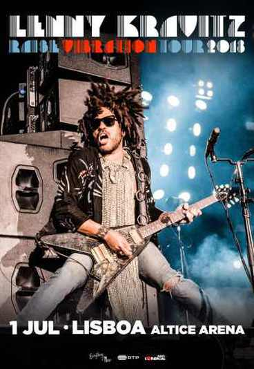 Lenny Kravitz - Raise Vibration Tour 2018