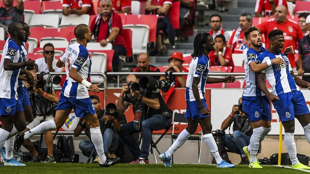 Resumo do jogo: SL Benfica 0-2 FC Porto