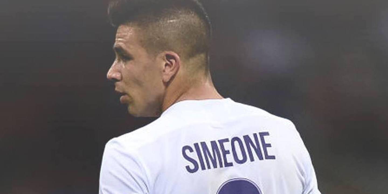 Giovanni Simeone quer brilhar como Batistuta na Fiorentina
