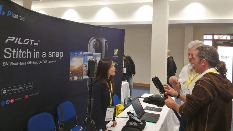 Pilot Era presente em conferência internacional sobre realidade virtual e fotografia