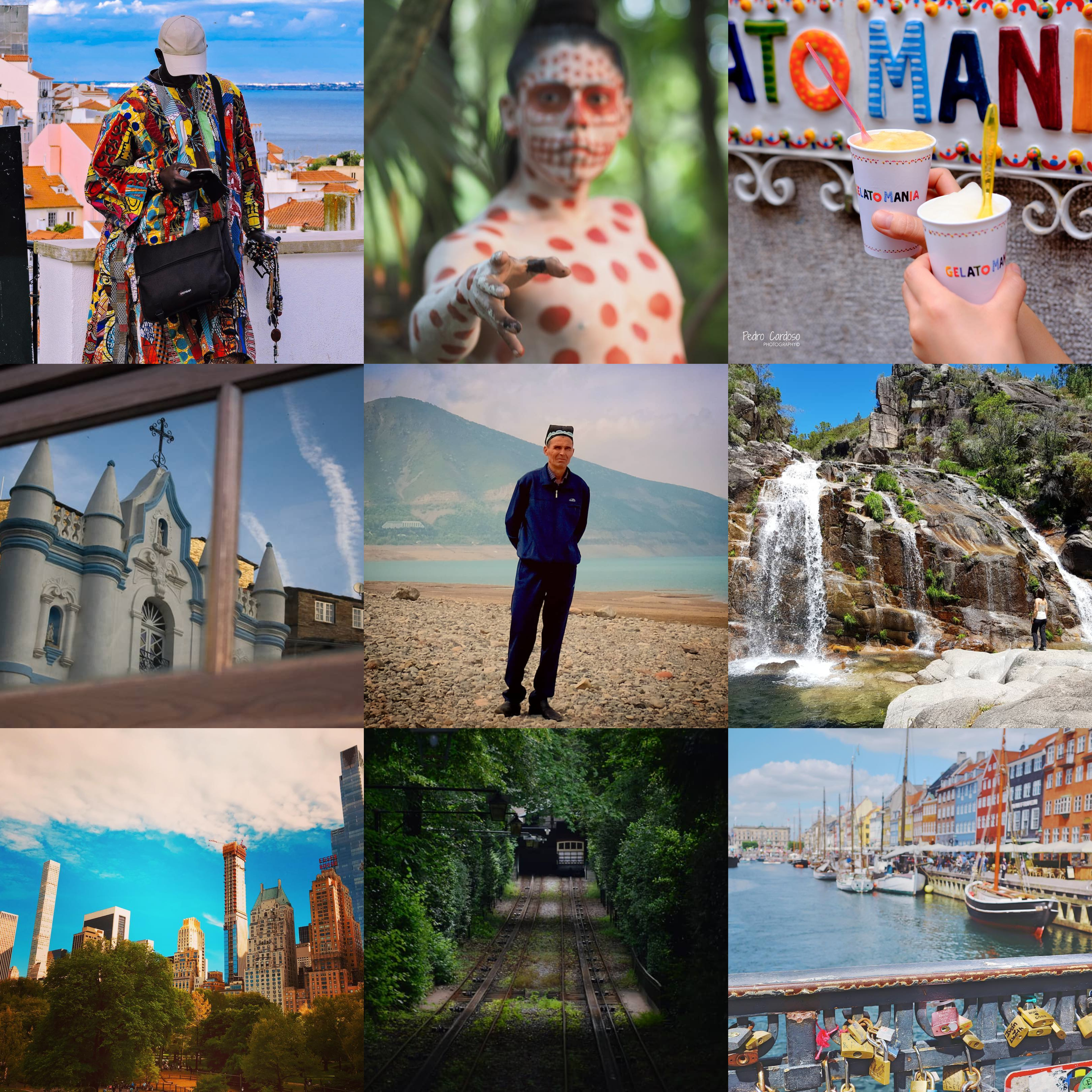 As cores do mundo nas Viagens de Instagram desta semana