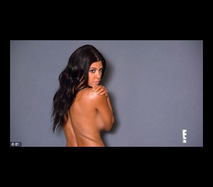 Kourtney Kardashian Strips Down For Latest Photo Shoot, Says She Likes To Be Naked
