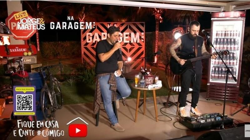 Jorge & Mateus batem recorde de Beyoncé: concerto na garagem foi o direto mais visto de sempre