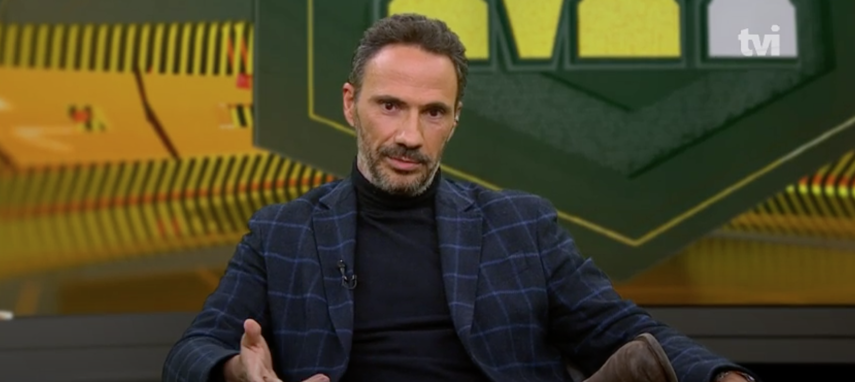 """TVI24. Pedro Ribeiro sai do programa """"Mais Futebol"""": """"Vai doer um bocadinho"""""""