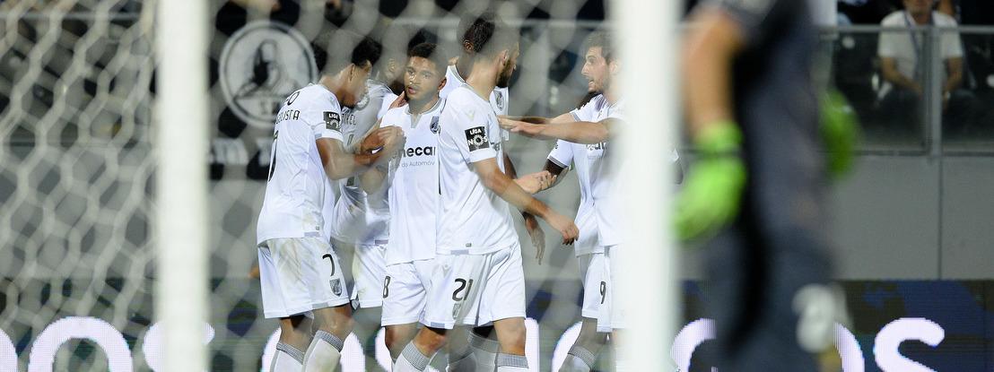 V. Guimarães aplica 'chapa 5' ao Aves e estreia-se a vencer na Liga