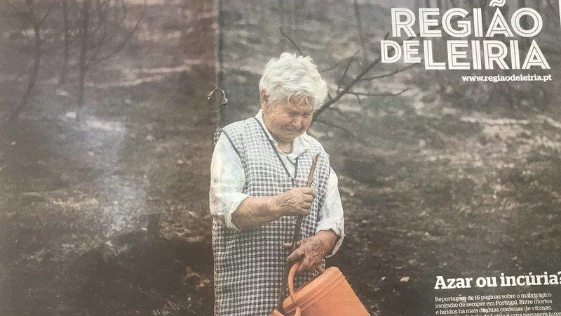 Incêndios: Fotografia do jornal Região de Leiria vence 'prata' em prémio internacional