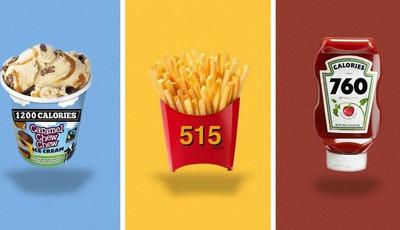 Comia estes produtos até ao fim se soubesse o total de calorias?