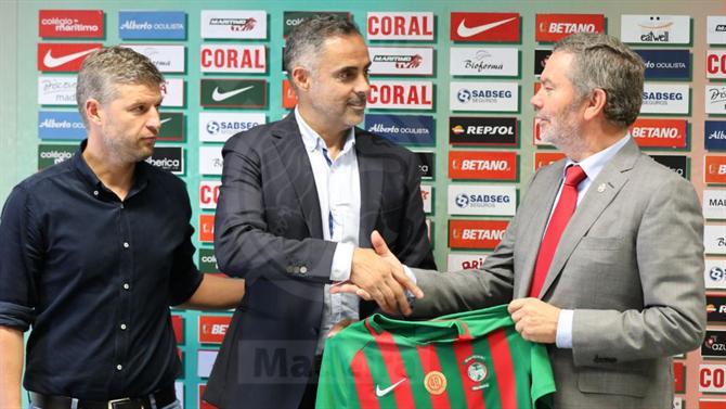 José Gomes pede apoio aos adeptos para ajudar Marítimo a vencer o Santa Clara