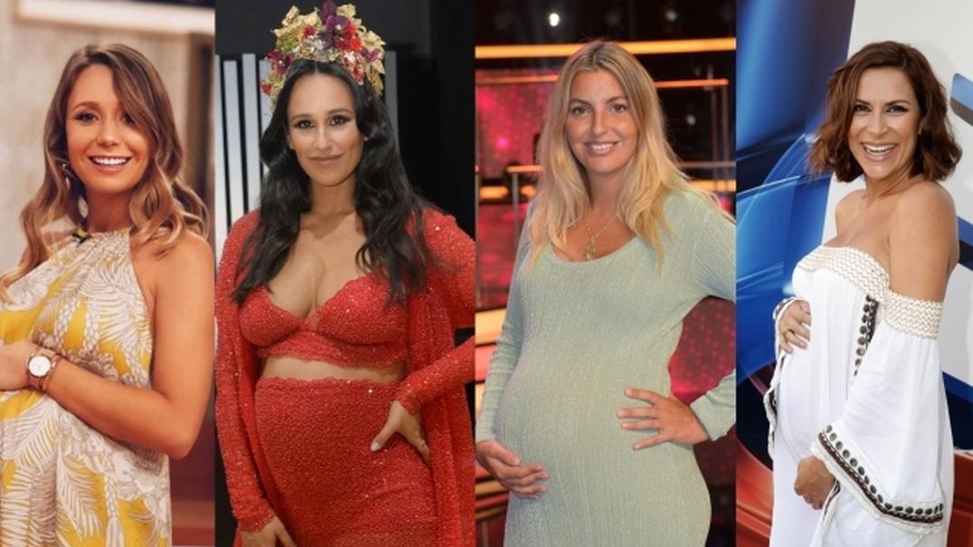 10 grávidas portuguesas cheias de estilo