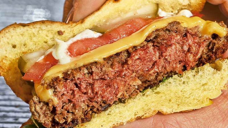 O menu do futuro: insetos, ervas & hambúrgueres vegetarianos