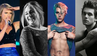 De Adele a Justin Bieber: Quando o amor acaba, eles escrevem canções