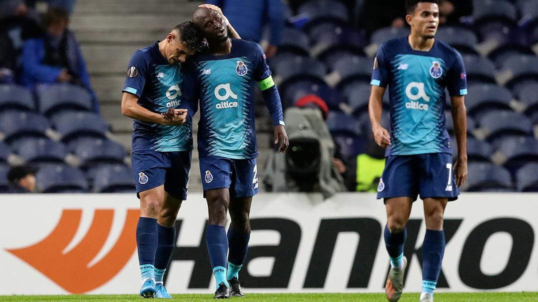 Resumo: FC Porto vence Feyenoord por 3-2 no Estádio do Dragão