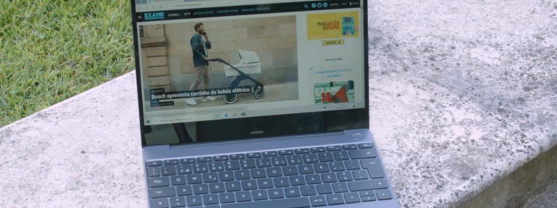 Huawei Matebook 13 em teste. Veja o vídeo